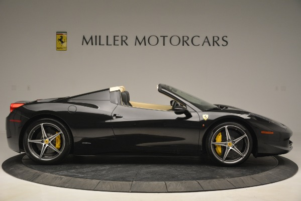 Used 2014 Ferrari 458 Spider for sale Sold at Maserati of Westport in Westport CT 06880 9