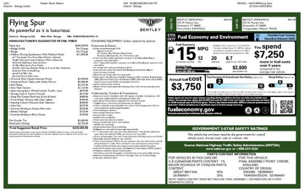 Used 2014 Bentley Flying Spur W12 for sale Sold at Maserati of Westport in Westport CT 06880 27