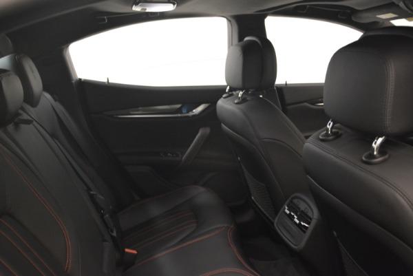 New 2018 Maserati Ghibli S Q4 for sale Sold at Maserati of Westport in Westport CT 06880 27
