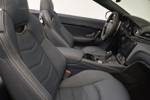 New 2018 Maserati GranTurismo Sport Convertible for sale Sold at Maserati of Westport in Westport CT 06880 23