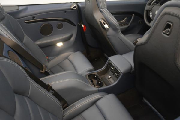 New 2018 Maserati GranTurismo Sport Convertible for sale Sold at Maserati of Westport in Westport CT 06880 25