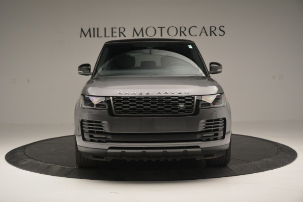 Used 2018 Land Rover Range Rover Supercharged LWB for sale Sold at Maserati of Westport in Westport CT 06880 12