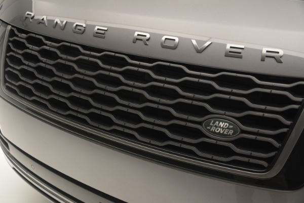 Used 2018 Land Rover Range Rover Supercharged LWB for sale Sold at Maserati of Westport in Westport CT 06880 13