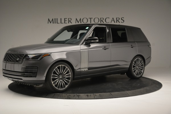 Used 2018 Land Rover Range Rover Supercharged LWB for sale Sold at Maserati of Westport in Westport CT 06880 2