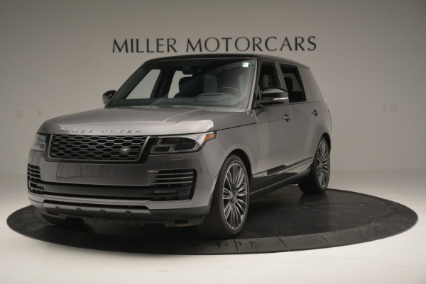 Used 2018 Land Rover Range Rover Supercharged LWB for sale Sold at Maserati of Westport in Westport CT 06880 1