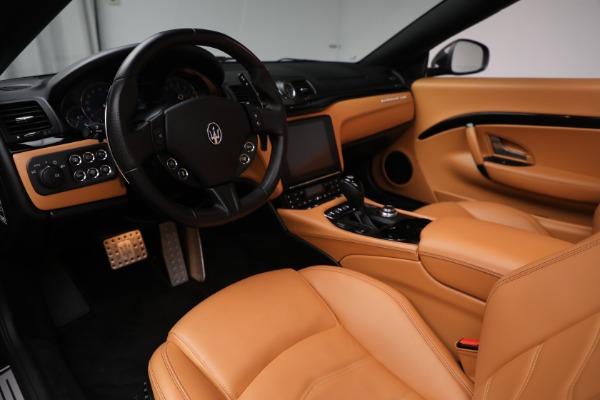 Used 2018 Maserati GranTurismo Sport for sale Call for price at Maserati of Westport in Westport CT 06880 20
