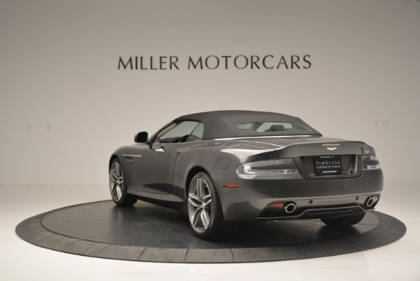 Used 2014 Aston Martin DB9 Volante for sale Sold at Maserati of Westport in Westport CT 06880 17