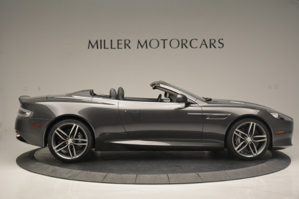 Used 2014 Aston Martin DB9 Volante for sale Sold at Maserati of Westport in Westport CT 06880 9