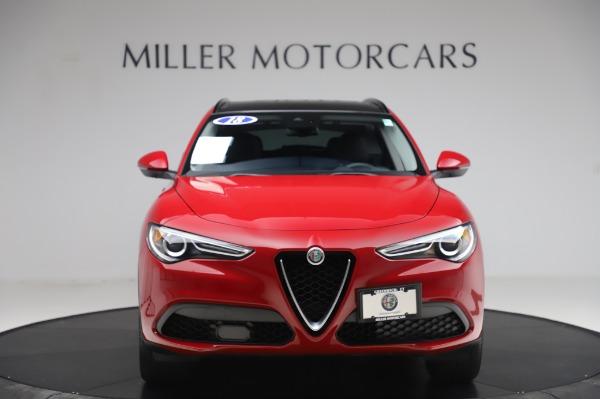 Used 2018 Alfa Romeo Stelvio Sport Q4 for sale Sold at Maserati of Westport in Westport CT 06880 12