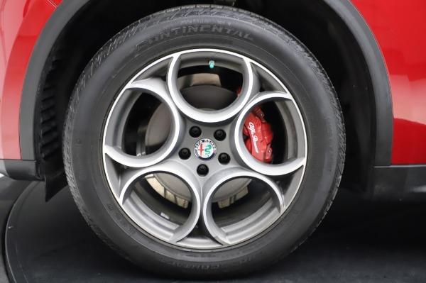 Used 2018 Alfa Romeo Stelvio Sport Q4 for sale Sold at Maserati of Westport in Westport CT 06880 14