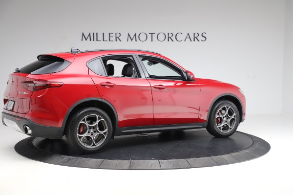 Used 2018 Alfa Romeo Stelvio Sport Q4 for sale Sold at Maserati of Westport in Westport CT 06880 8