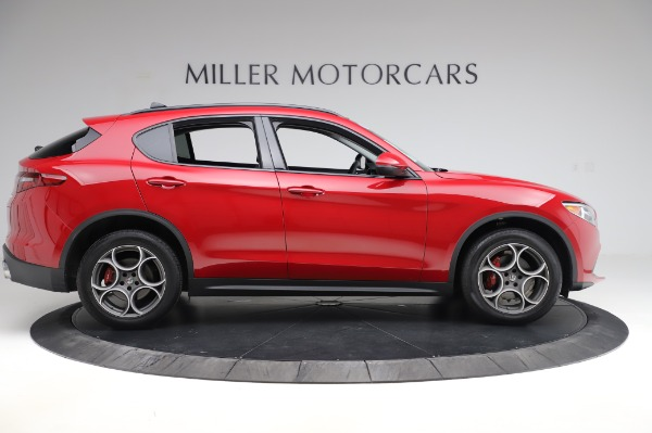 Used 2018 Alfa Romeo Stelvio Sport Q4 for sale Sold at Maserati of Westport in Westport CT 06880 9
