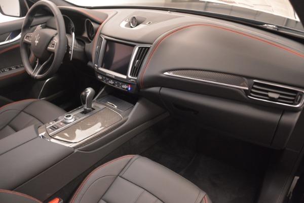 New 2018 Maserati Levante S Q4 GranSport Nerissimo for sale Sold at Maserati of Westport in Westport CT 06880 19