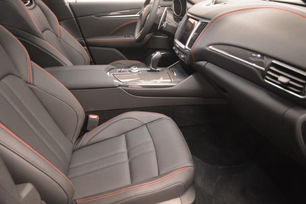 New 2018 Maserati Levante S Q4 GranSport Nerissimo for sale Sold at Maserati of Westport in Westport CT 06880 20