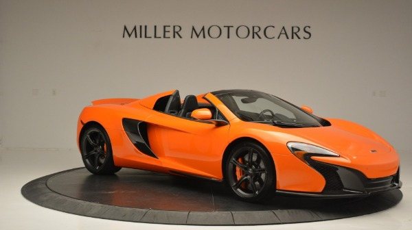 Used 2015 McLaren 650S Spider Convertible for sale Sold at Maserati of Westport in Westport CT 06880 10