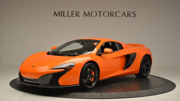 Used 2015 McLaren 650S Spider Convertible for sale Sold at Maserati of Westport in Westport CT 06880 15