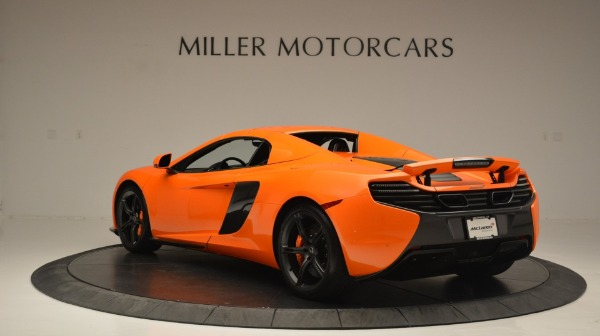 Used 2015 McLaren 650S Spider Convertible for sale Sold at Maserati of Westport in Westport CT 06880 17