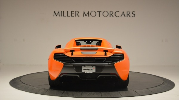 Used 2015 McLaren 650S Spider Convertible for sale Sold at Maserati of Westport in Westport CT 06880 18