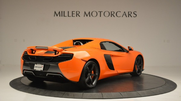 Used 2015 McLaren 650S Spider Convertible for sale Sold at Maserati of Westport in Westport CT 06880 19