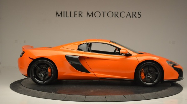 Used 2015 McLaren 650S Spider Convertible for sale Sold at Maserati of Westport in Westport CT 06880 20