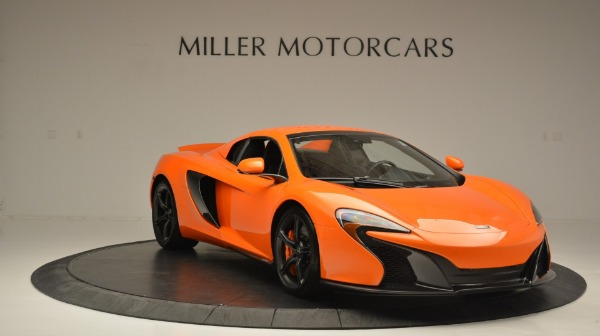 Used 2015 McLaren 650S Spider Convertible for sale Sold at Maserati of Westport in Westport CT 06880 21