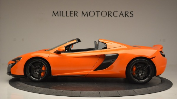 Used 2015 McLaren 650S Spider Convertible for sale Sold at Maserati of Westport in Westport CT 06880 3