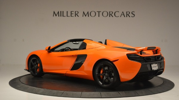 Used 2015 McLaren 650S Spider Convertible for sale Sold at Maserati of Westport in Westport CT 06880 4