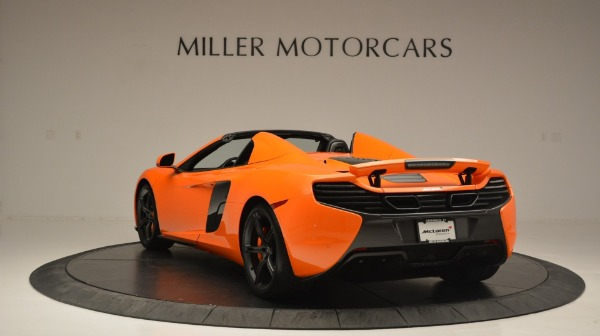 Used 2015 McLaren 650S Spider Convertible for sale Sold at Maserati of Westport in Westport CT 06880 5