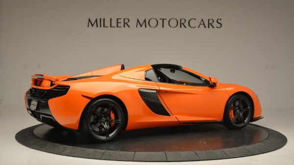Used 2015 McLaren 650S Spider Convertible for sale Sold at Maserati of Westport in Westport CT 06880 8