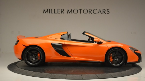 Used 2015 McLaren 650S Spider Convertible for sale Sold at Maserati of Westport in Westport CT 06880 9