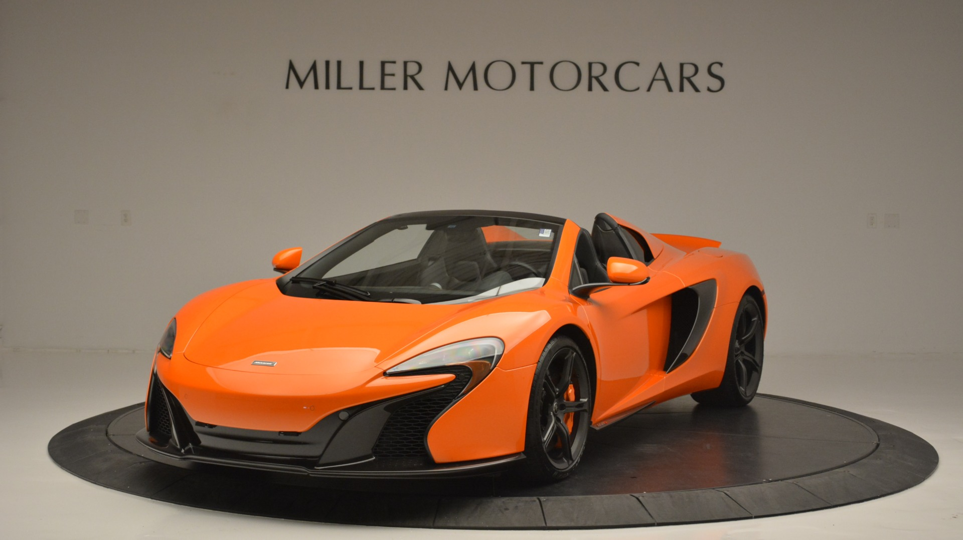 Used 2015 McLaren 650S Spider Convertible for sale Sold at Maserati of Westport in Westport CT 06880 1