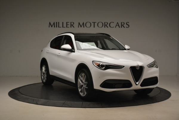 New 2018 Alfa Romeo Stelvio Ti Sport Q4 for sale Sold at Maserati of Westport in Westport CT 06880 11