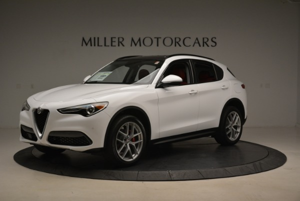 New 2018 Alfa Romeo Stelvio Ti Sport Q4 for sale Sold at Maserati of Westport in Westport CT 06880 2