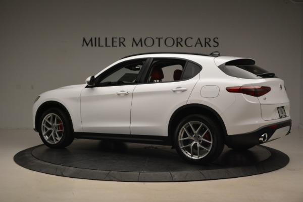New 2018 Alfa Romeo Stelvio Ti Sport Q4 for sale Sold at Maserati of Westport in Westport CT 06880 4