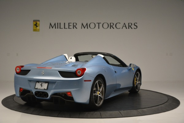 Used 2012 Ferrari 458 Spider for sale Sold at Maserati of Westport in Westport CT 06880 7