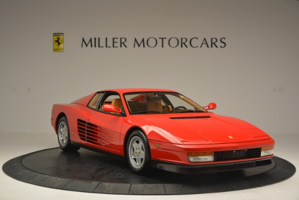 Used 1990 Ferrari Testarossa for sale Sold at Maserati of Westport in Westport CT 06880 11