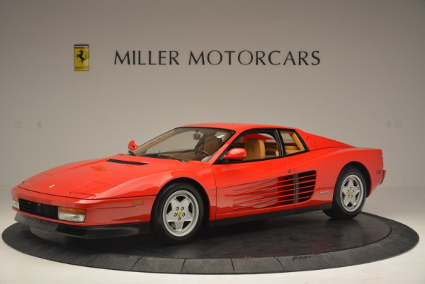 Used 1990 Ferrari Testarossa for sale Sold at Maserati of Westport in Westport CT 06880 2