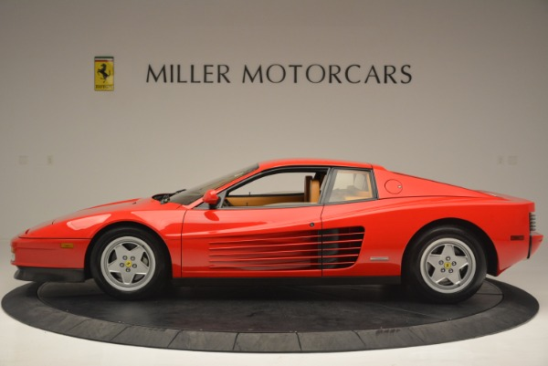 Used 1990 Ferrari Testarossa for sale Sold at Maserati of Westport in Westport CT 06880 3