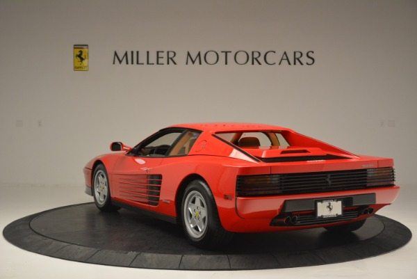 Used 1990 Ferrari Testarossa for sale Sold at Maserati of Westport in Westport CT 06880 5