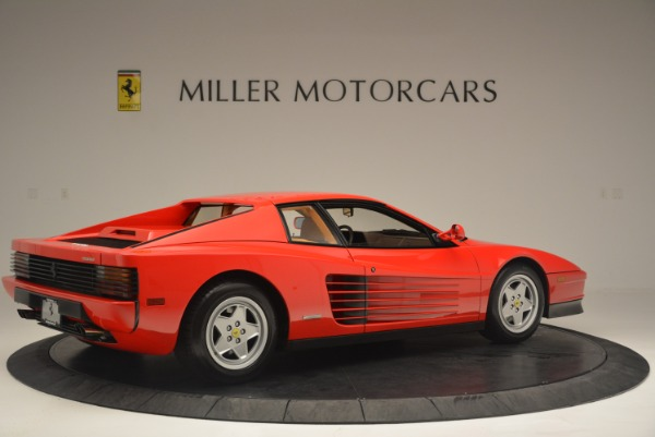 Used 1990 Ferrari Testarossa for sale Sold at Maserati of Westport in Westport CT 06880 8