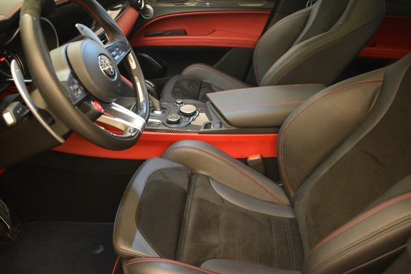 New 2018 Alfa Romeo Stelvio Quadrifoglio for sale Sold at Maserati of Westport in Westport CT 06880 14