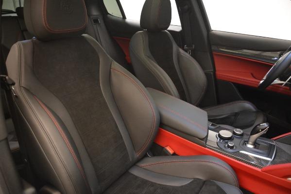 New 2018 Alfa Romeo Stelvio Quadrifoglio for sale Sold at Maserati of Westport in Westport CT 06880 21