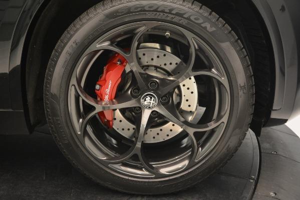 New 2018 Alfa Romeo Stelvio Quadrifoglio for sale Sold at Maserati of Westport in Westport CT 06880 25
