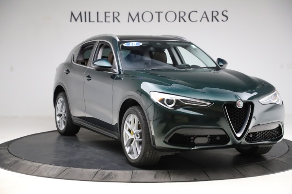 Used 2018 Alfa Romeo Stelvio Ti Q4 for sale $32,900 at Maserati of Westport in Westport CT 06880 11