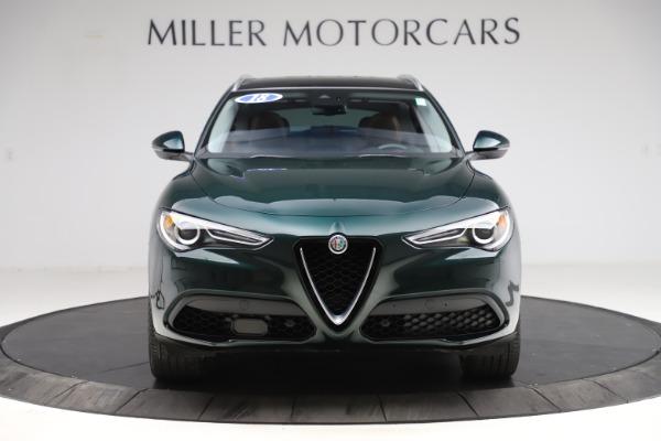 Used 2018 Alfa Romeo Stelvio Ti Q4 for sale $32,900 at Maserati of Westport in Westport CT 06880 12