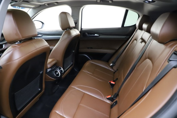 Used 2018 Alfa Romeo Stelvio Ti Q4 for sale $32,900 at Maserati of Westport in Westport CT 06880 19