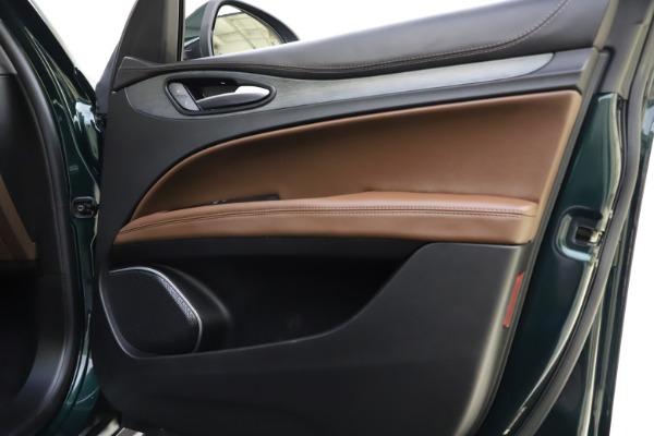 Used 2018 Alfa Romeo Stelvio Ti Q4 for sale $32,900 at Maserati of Westport in Westport CT 06880 25