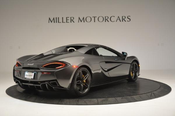 Used 2019 McLaren 570S Spider Convertible for sale Sold at Maserati of Westport in Westport CT 06880 19