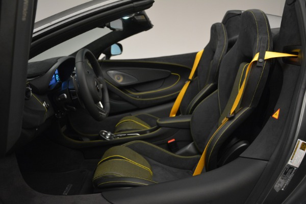 Used 2019 McLaren 570S Spider Convertible for sale Sold at Maserati of Westport in Westport CT 06880 24