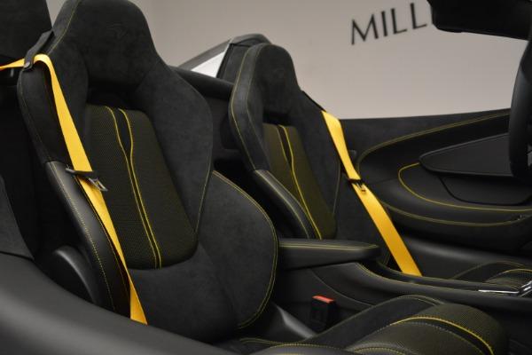 Used 2019 McLaren 570S Spider Convertible for sale Sold at Maserati of Westport in Westport CT 06880 27
